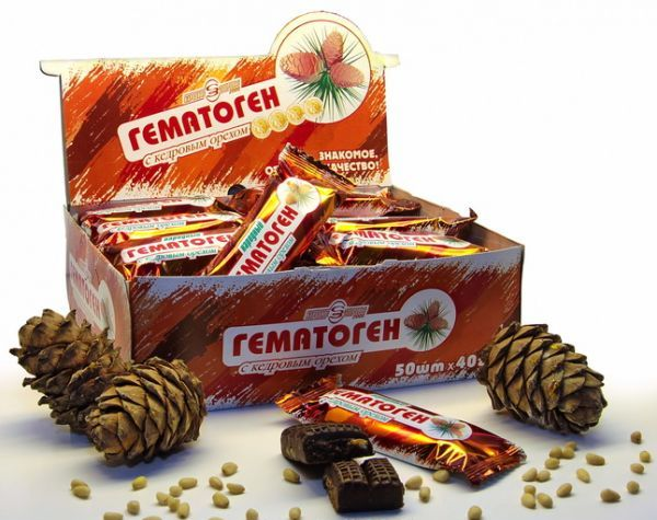 гематоген польза и вред