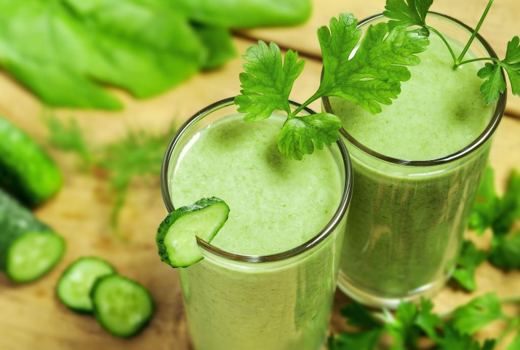 Как сделать сок из сельдерея