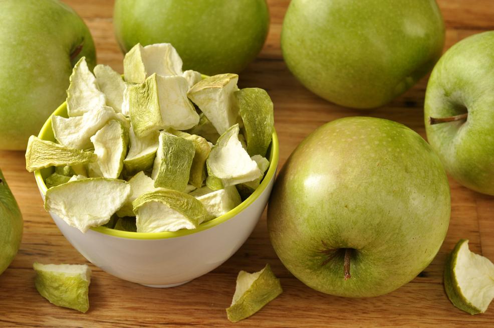 сушеные яблоки польза и вред
