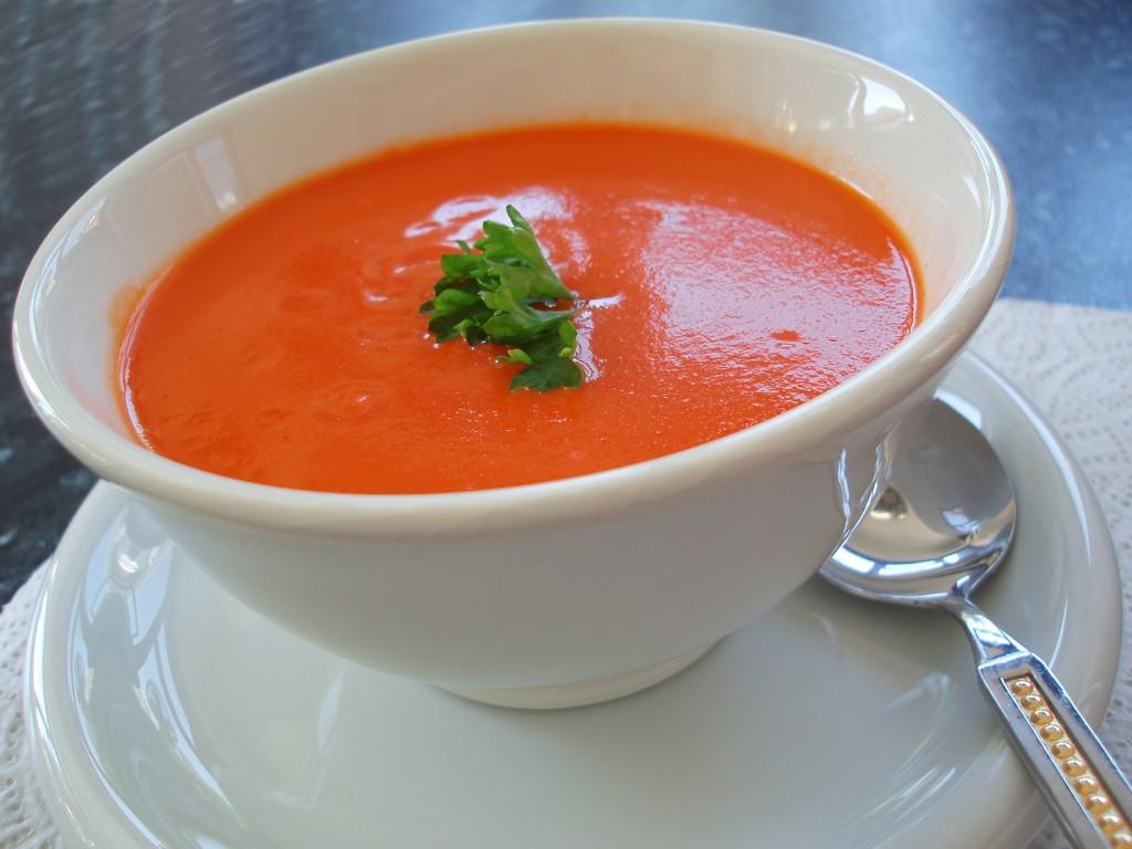 Томатный крем суп рецепт с фото
